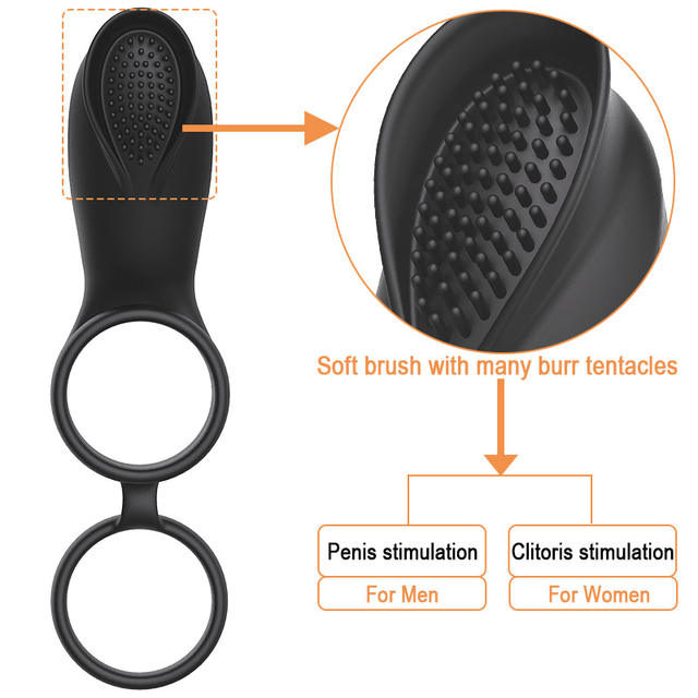 Remote Control Cock Ring Vibrators