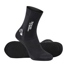 3 мм носки для дайвинга ботинки водонепроницаемая обувь нескользящие пляжные ботинки к гидрокостюму Подводное Плавание Дайвинг ботинки для серфинга для мужчин Wo 3s