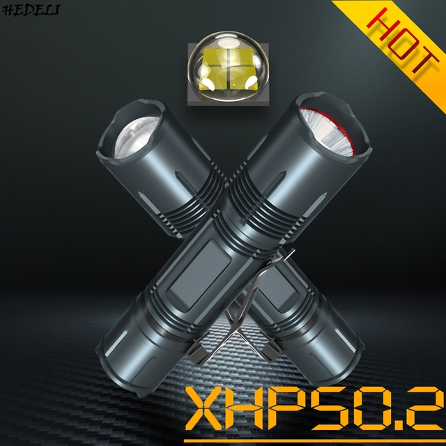 Hunting XHP50.2 High Powerful Tactical Led Flashlight Usb Rechargeable Torch Waterproof 18650 Battery Flash Light Focus XHP50 1