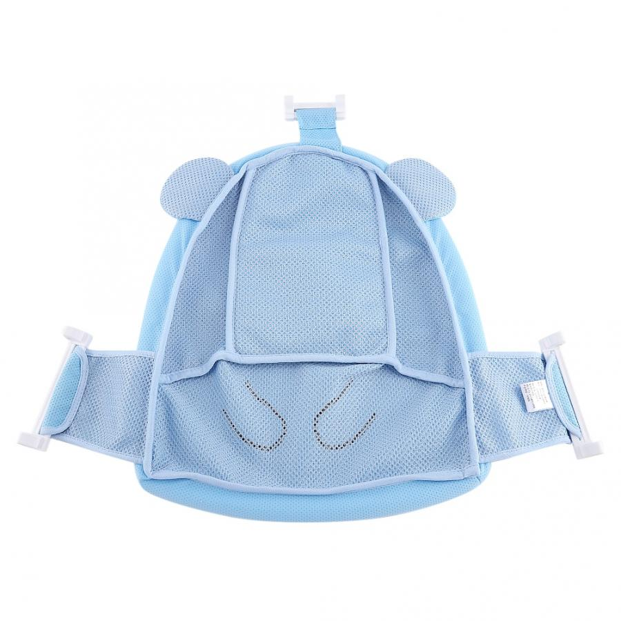 Мягкий коврик для ванной для новорожденного малыша, нескользящий коврик для ванной, подушка для ванной, надувная подушка