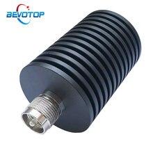 100w uhf pl259 macho conector de tomada rf terminação coaxial manequim carga 1ghz 50ohm niquelado acessórios rf