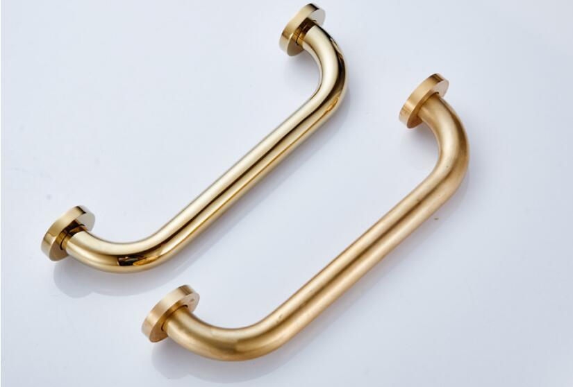 H8563231a12574ea8b3b5711fd99cff32B - Vidric 4 colors Bathroom armrest brass, bathroom handle bathtub armrest handrail Grab Bar Gold Hand bar Safety bar