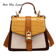 цены Women Bags Brand Handbag Luxury Small Crossbody Bags for Women 2019 Fashion High Quality Leather Messenger Bag Female Tote Black