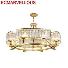 Moderna Lustre Pendente Candiles Colgante Modernos Crystal Hanging Lamp Luminaria Lampen Modern Luminaire Suspendu Pendant Light