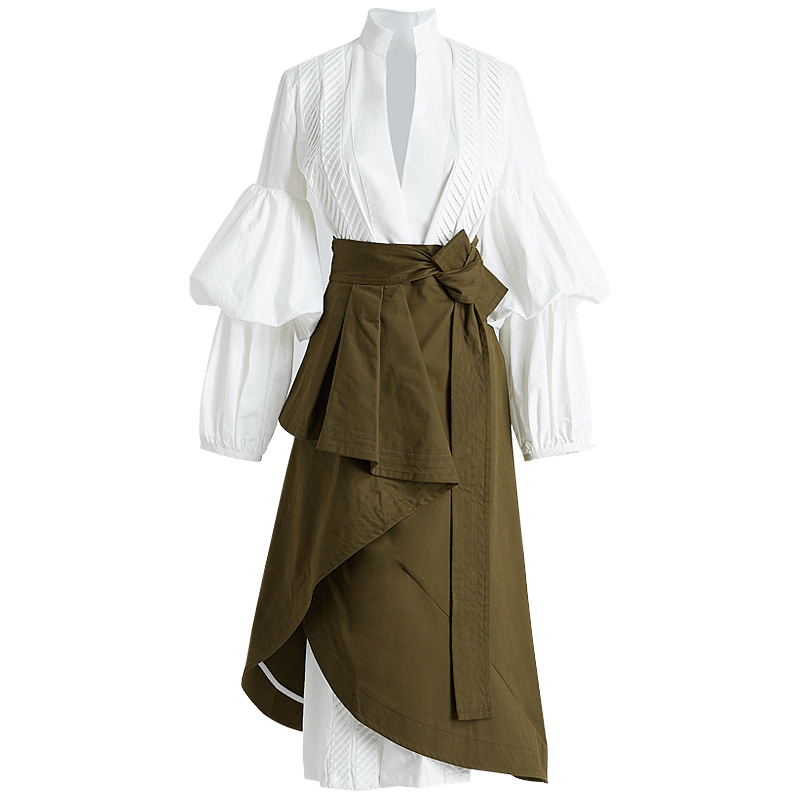 Կանանց 2 կտոր փեշի հավաքածու V - Կանացի հագուստ - Լուսանկար 4