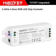 Miboxer 2,4 GHz 4-Zone RGB светодиодный светильник, FUT037(модернизированный) DC12V~ 24V RGB светодиодный светильник