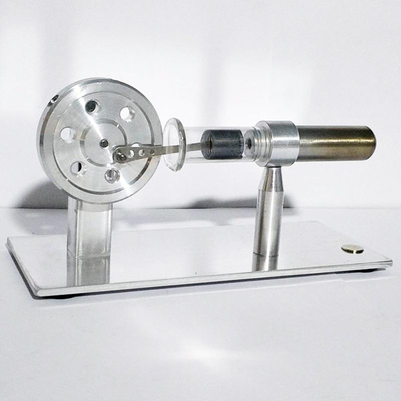 turbina externa motor a vapor modelo ciência educação suprimentos