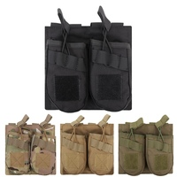 Dual Package Bag Multifunctional Adjustable Durable Hunting Accessory For Molle System