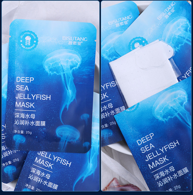 Deep-sea Jellyfish Mask Moisturizing Water Nourishment To Keep Moist and Smooth Skin Mask Skin Care 5