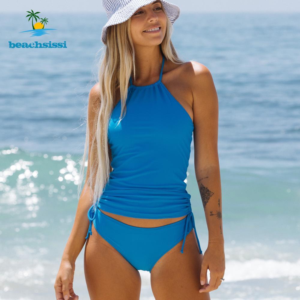 Beachsissi Women's Halter Bikini  Bathing Swimwear 6