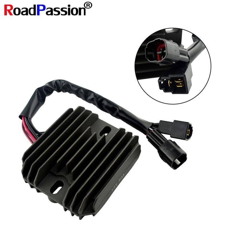 Road Passion Motorcycle Accessories Voltage Regulator Rectifier For SUZUKI GSF1250 DL650 (V-Strom) VL1500 (Intruder LC) VL800