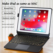 Keyboard-Cover Magic iPad Bluetooth for Air-2-Case Pro Touchpad Magnetic Ultra-Slim