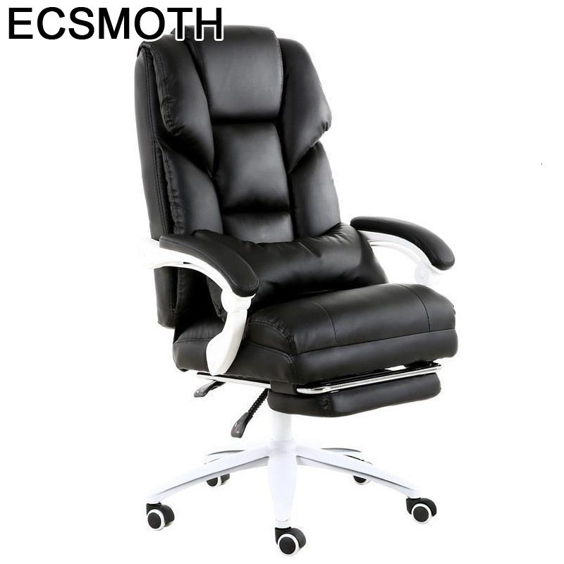 Bureau Meuble Oficina Stool Sedia Ufficio Ergonomic Sandalyeler Fauteuil Leather Silla Gaming Cadeira Poltrona Computer Chair