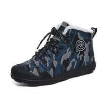 SKHEK Winter Boots Girls Waterproof Snow Shoes Kids Toddler Keep Warm Children F