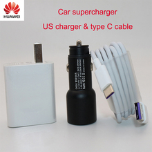 For Huawei Supercharge Car Charger Metal FCP Fast Charge for Huawei P30 P20 P10 P9 Plus Mate 30 20 10 9 8 Pro Lite Honor V20 V10