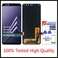 Quality Assurance For SAMSUNG Galaxy A8 2018 LCD A530 A8 2018 LCD A530F LCD  Display Touch Digitizer Replacement