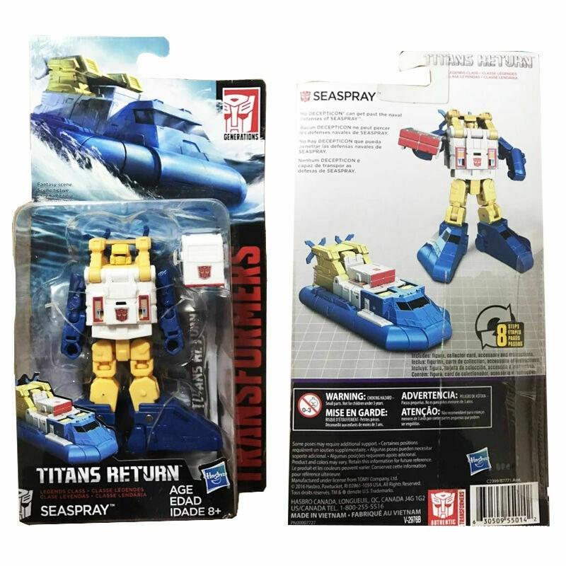 Hasbro Transformers Titans Return Legends viper Action Figure Robot Kids Toys