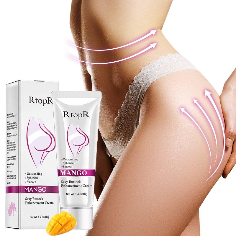 RtopR Natural Mango Sexy Buttock Enhancement Lifting & Firming Hip Butt Anti-Aging Buttock Treatment Cream Body Skin Care
