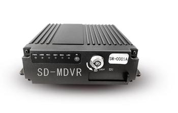 Car Vehicle Bus RV Mobile AHD 4CH DVR Realtime Video Audio Recorder with Remote 12V