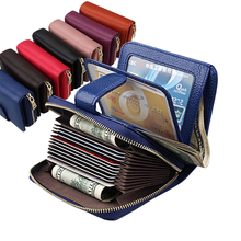 Women Wallets Metal Zipper Small Wallet Short Credit Card Holder Genuine Leather Coin Purse Cowhide Luxury Purses Female cheap cosyde Cow Leather 0 16kg Polyester 12cm Solid Fashion 2JY20189 Interior Slot Pocket Interior Zipper Pocket Interior Compartment