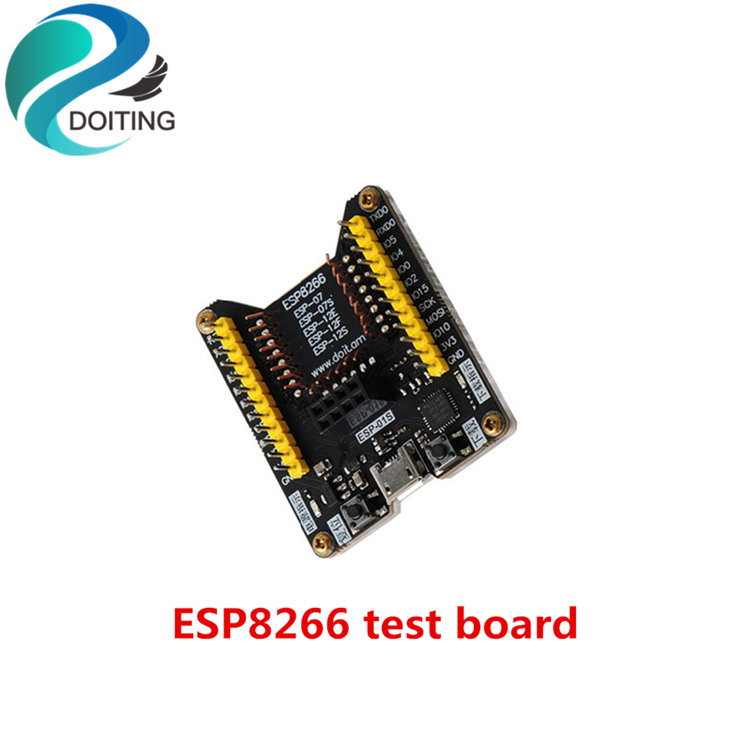 DOITING ESP8266 Test Board Development Board Flash Download Tool Firmware Downloader Program Flashing Support ESP-12F/ESP-07S