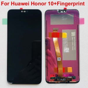 with Fingerprint 5.84'' Original LCD For HUAWEI Honor 10 LCD Display Touch Screen Digitizer For Huawei honor10 COL-L29 COL-AL10