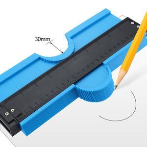 Image 3 - Duplicador plástico da cópia do contorno do contorno do modelo do medidor da ferramenta da medida do perfil do duplicador do contorno de 12/14/25 cm