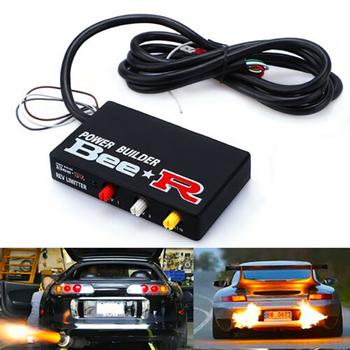 Modyfikacja samochodu nowy producent mocy wyścigi typu B Rev ogranicznik zwalniający sterowanie rura wydechowa urządzenie zapłonowe zestaw płomienia tanie i dobre opinie HIIGF