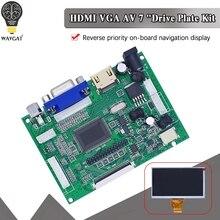 WAVGAT HDMI, VGA, AV Экран Дисплей модуль для Pcduino, Banana Pi без том числе 7 дюймов Raspberry Pi IPS ЖК-дисплей