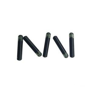 Image 3 - READELL puces tortue en verre 10 pièces/lot, étiquettes 2.12x1 2mm/1.4X 8mm/1.25x7mm pour petits animaux SO11784/785 FDX B