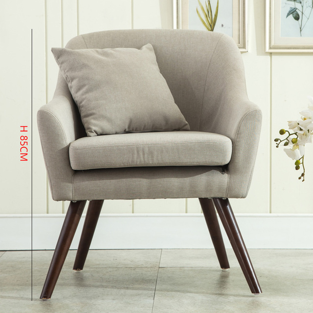US $152.07 21% OFF|Nordic Creative Sofa Chairs Furniture Lounge Chair  Modern Comfortable Living Room Sofas Contemporary Style Armchairs Single  Sofa on ...
