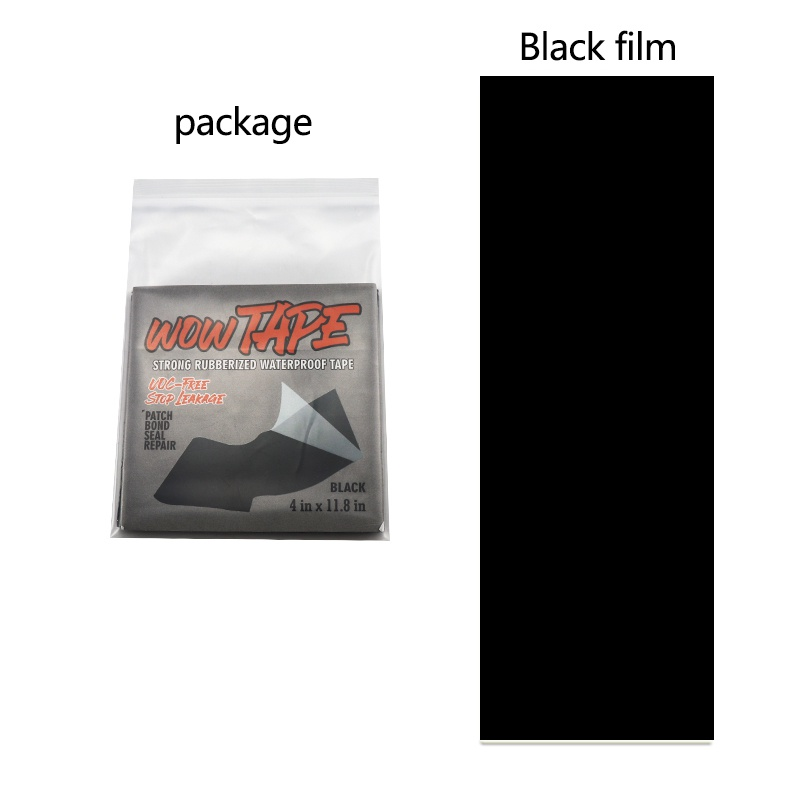 Waterproof Transparent/Black Self Adhesive TPU Puncture Repair Patch Sticker For Tent Air Bed Inflatable Rubber Boat Dinghies