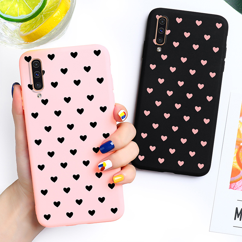 Phone Case For <font><b>Samsung</b></font> A50 A70 <font><b>A40</b></font> A10s Case <font><b>Cover</b></font> Galaxy A30 A20S A20e Core <font><b>2019</b></font> A90 5G Note 10 Plus A9 A7 2018 Cases Silicone image
