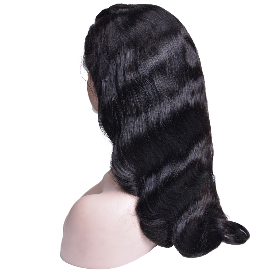 Lace Front Human Hair Wigs Pre Plucked 13X4 Brazilian Body Wave Lace Front Wig With Baby Hair For Black Women Non Remy