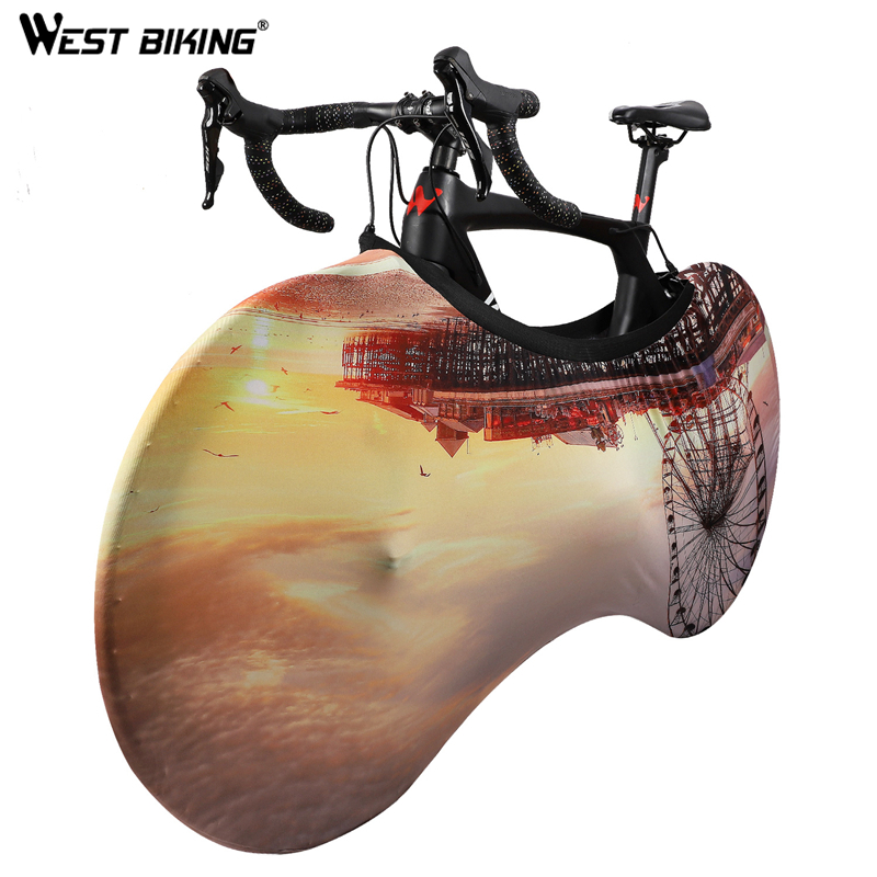 WEST BIKING Universal Bike Cover Dust-proof Scratch-proof Bike Wheel Cover Road MTB  Bicycle Wheel Protective  Gear For Bike
