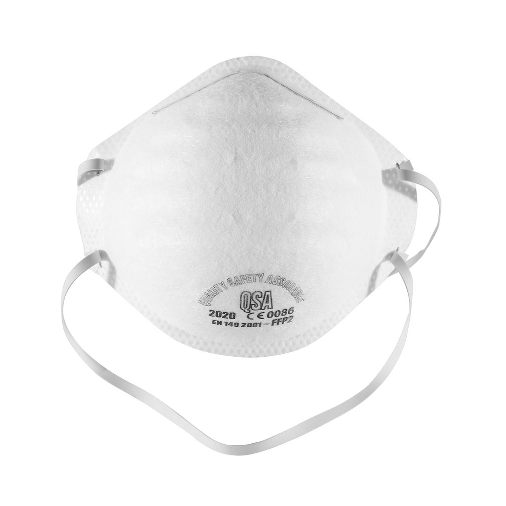 IN STOCK! Anti-fog Headband FFP2 Grade Round Mask Non-woven Dust Mask Anti PM2.5 Anti Influenza Breathing Bicycle Ridin