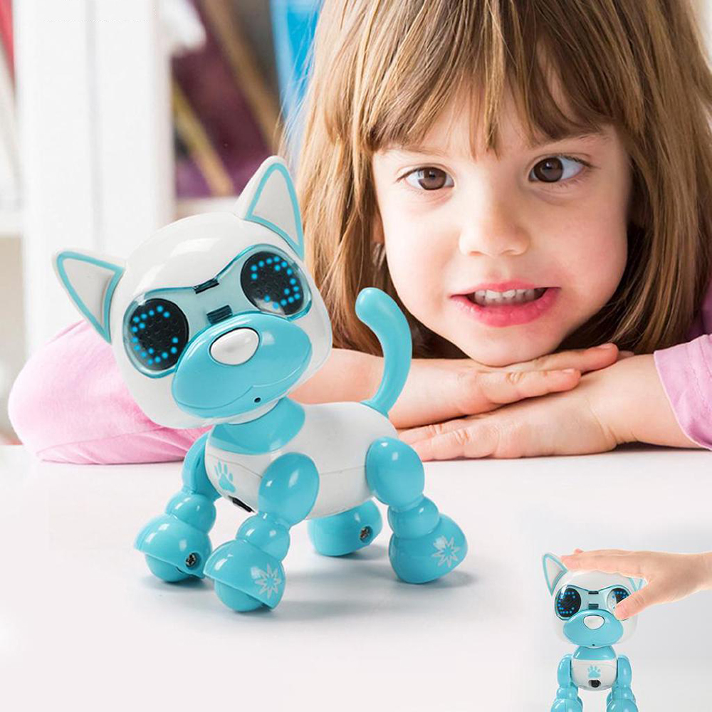 Smart Robot Dog Electronic Puppy Pets Toys Children Nductive Touch Intelligent Interaction Fun Playmate Sound Flexible Recording