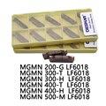 10 шт., DESKAR MGMN200-G LF6018 300-T 300-H 400-T 400-H 500-M LF6018 токарный станок с ЧПУ, Токарный Карбид для нержавеющей стали