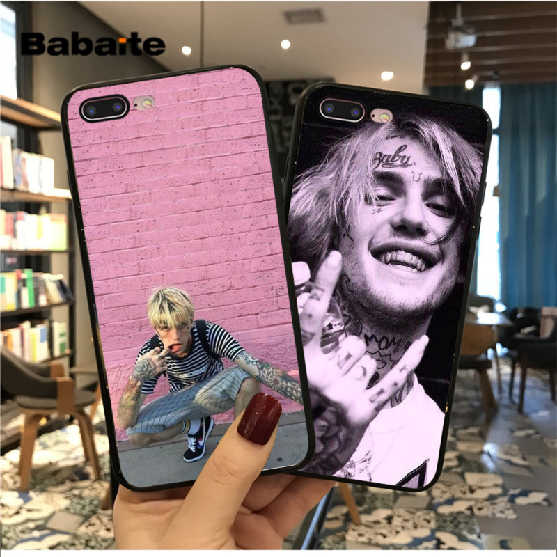 Babaite Tentacion Lil Peep Bo Popular  Case cover Shell for iPhone 11 pro max 5 5S SE 6 6s 7 7plus 8 8Plus XRX XS MAX