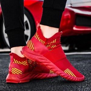 Image 5 - Мужские кроссовки, дышащие кроссовки для бега, разноцветные кроссовки, амортизирующие кроссовки для ходьбы, бега, спортивная обувь, спортивные кроссовки для тренировок