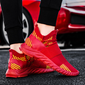 Image 5 - Men Sneakers Breathable Running Shoes Mixed Color Blade Sneakers Damping Walking Jogging Sports Shoes Athletic Training Sneakers