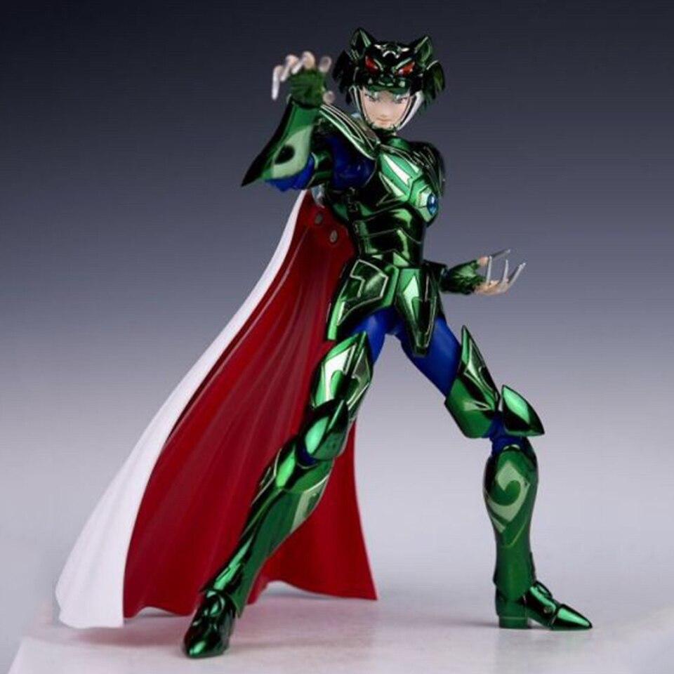 Tronzo JM Model Saint Seiya Myth Cloth Mizar Black Tiger PVC Action Figure Toys Collection Dolls Gifts For Children