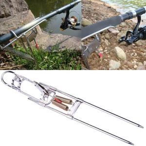 Нержавеющая сталь автоматический двойной триггер пружинный Тип рыболовные снасти articulos de pesca Herramienta de pesca