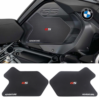 Boczne motocyklowe naklejka na zbiornik paliwa dla BMW R1200GS ADV R1250GS przygoda gumowa naklejka podkładka boczna 2013-2019