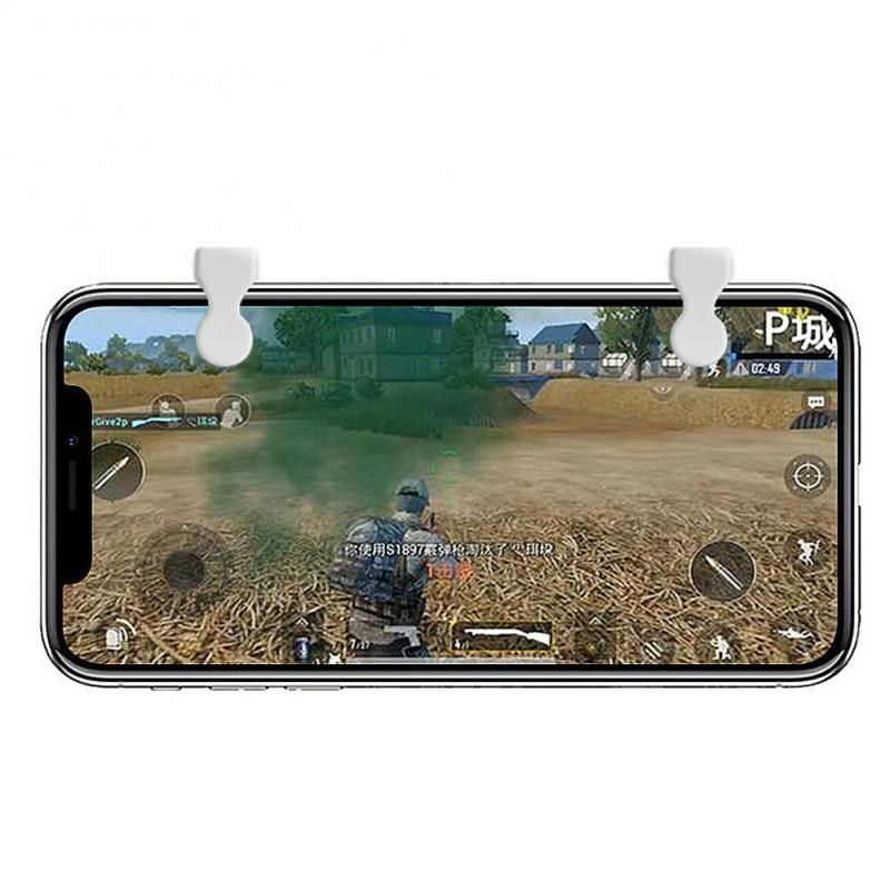 1pair Smart Phone Mobile Gaming Trigger Fire Button Handle for L1R1 Shooter Controller PUBG