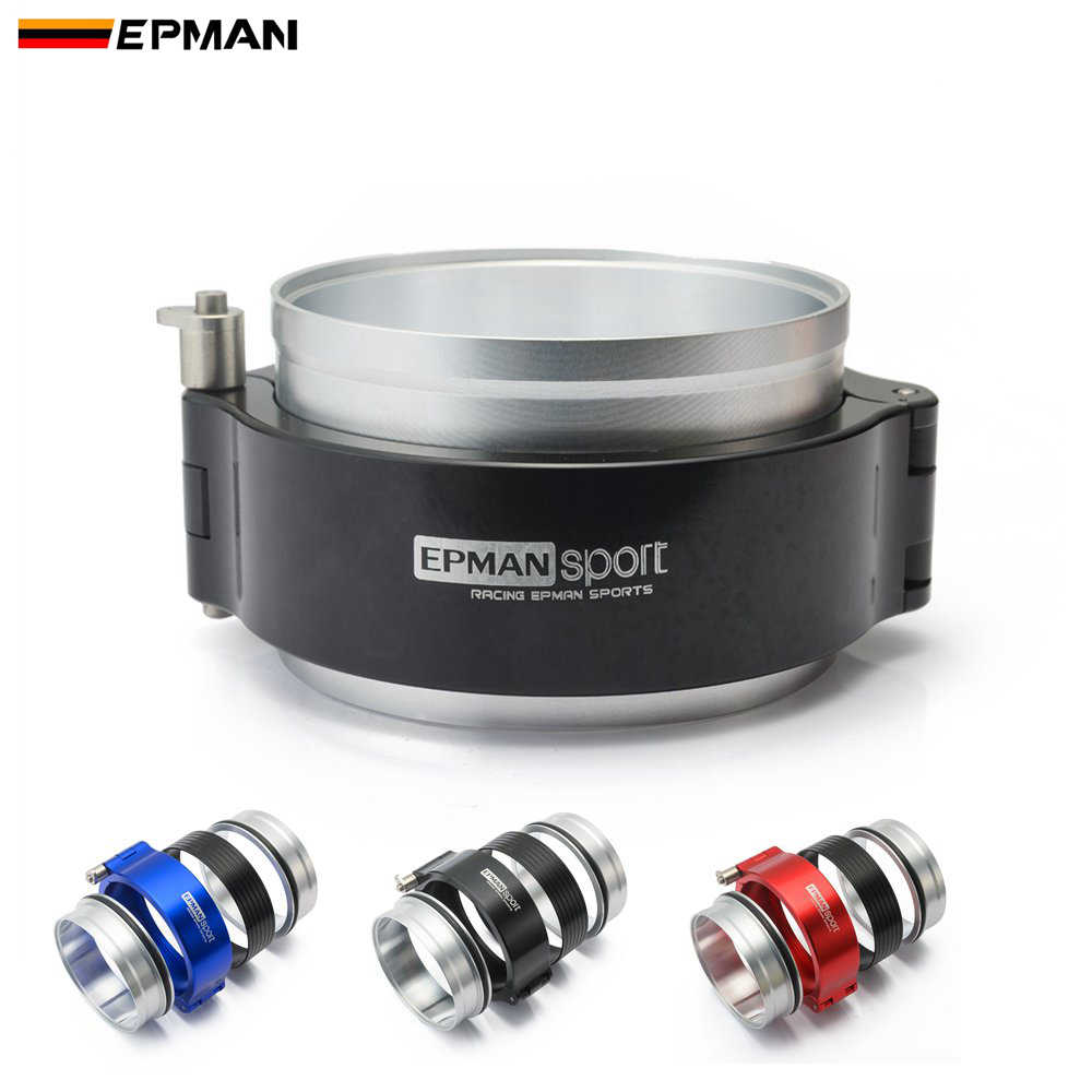 EPMAN HD Exhaust V-band Clamp W Flange System Assembly For 3.5