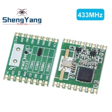 ShengYang RFM69HW 868Mhz/433Mhz/915Mhz + 20dBm HopeRF Wireless Transceiver 868S2 Module For Remote/HM