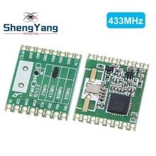 ShengYang – émetteur-récepteur sans fil HopeRF RFM69HW 868Mhz/433Mhz/915Mhz + 20dbm, Module 868S2 pour télécommande/HM