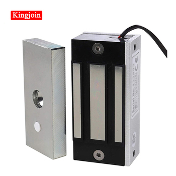Mini Electric Magnetic Cabinet Lock 60KG 100LBS Magnetic Lock Door Electric Lock For Access Control System lpsecurity 60kg 12v wooden gate door electric magnetic lock keypad rfid door access control system kit with 10 tags