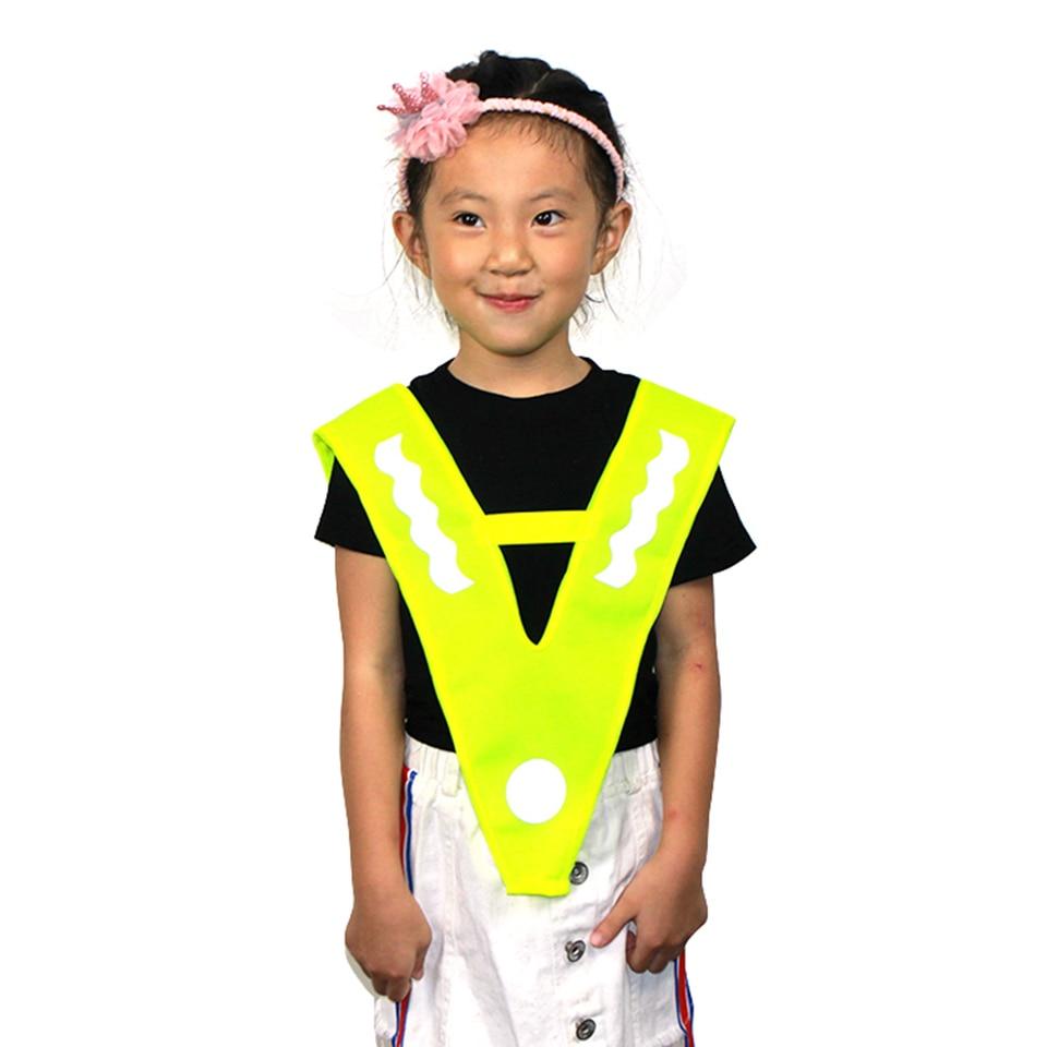 2 X Children/'s Reflective High Visibility Hi-Viz Road Safety Reflector Sticker